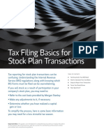 CES Tax Guide - Tax Filing Basics for Stock Plan Transactions