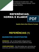 REFERÊNCIAS - NBR 6023-2018 - 2019 1