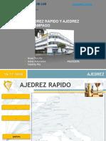 Exporsicion Ajedrez Relampago y Ajedrez Rapido