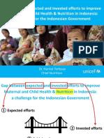 Dr Harriet Torlesse UNICEF