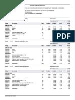 Análisis de costos unitarios - Tambobamba