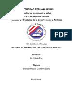 Historia Clínica de Dolor Torácico II (1)
