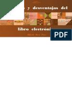 Ventajas y desventajas del libro electrónico