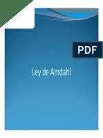 Ley de Amdahl