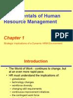 Fundamentals of HRM