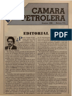Boletin No.2 Camara Petrolera de Venezuela Octubre 1983