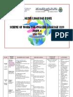 Scheme of Work 1119 f4 2019