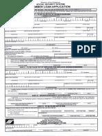 SS Forms Member Loan Application