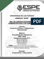 Documentos y Regimenes de Importacion (1)