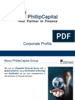 PhillipCapital India Corporate Profile 2019