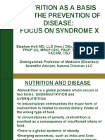 Stephen Holt MD-A4M Dubai Nutrition Presentation