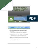 12-2-08 Offshore Wind Webinar
