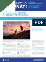 Boletín AES 44 Marzo - Tips Para Liderar Tu Equipo de Trabajo