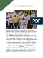 Da Laura Fernández impulso a jóvenes de Puerto Morelos