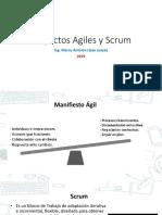 Proyectos Agiles y SCRUM 2019