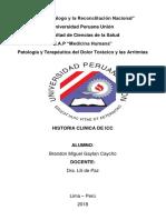 Historia Clínica de Icc 2