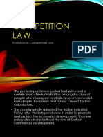 Competition Law.............