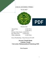 03 Kelompok KIMFIS Koloid