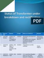 Transformer Breakdown New