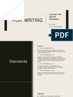 play writing ppt