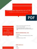 Cardiopatia isquemica y vih.pptx