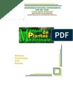 Manual de plantas medicinales