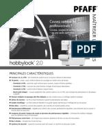 Hobbylock 2.0 Maitriser Les Bases