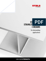 Stalatube - I beam