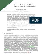 Chen-Fleury2006 Chapter DuplicateAddressDetectionInWir
