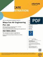 Maya ISO 9000:2015