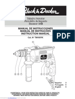 Foreuse Black& Decker KR650cre Manual