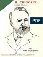 Bogoljubov E.  - Mikhail Chigorin - Selected Games - Batsford 1987.pdf
