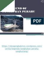 The Legend of Tangkuban Perahu (English Project) Lenn
