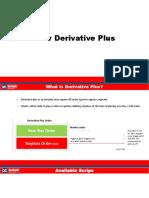Derivative Analysis