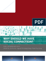 WHY SHOULD WE HAVE SOCIAL CONNECTION.pptx