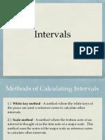 Intervals Presentation