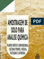 IAPAR_Amostragem de Solo Para Analise Quimica