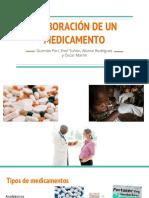 Elaboración de Un Medicamento