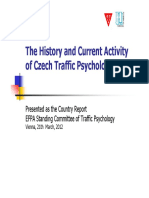 Traffic Psychology in Czech Republic