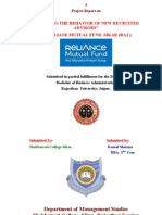 Reliance Mutual Project