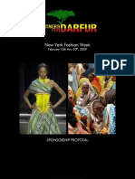 DESIGNERS FOR DARFUR SPONSORSHIP PROPOSAL 150K-25K