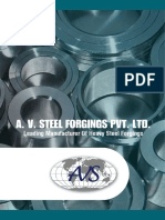 A v Steel Forgings Pvt Ltd - Brochure