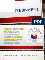 PPT on Government, Parens Patriae, Sovereignty