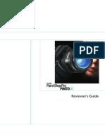 Corel Paint Shop Pro Photo XI Reviewer Guide