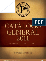 Portavoz Catalogo General 2011