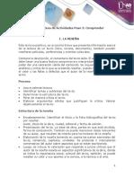 Anexo Guía de Actividades Unidad 2 - Paso 3. Comprender