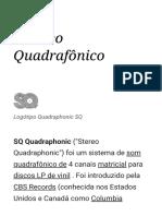 Estéreo Quadrafônico - Wikipedia (2018!12!09 05-01-09 UTC)