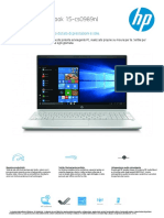 HP Pavilion Notebook 15-Cs0989nl