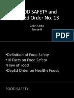 Food Safety April