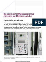 EEP - HV Substation Bus Overcurrent and Differential Protection